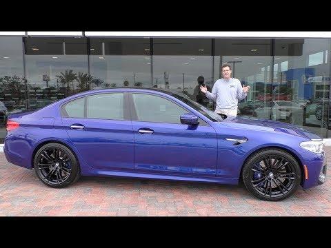 BMW M5 2018 года это суперседан за $120 000