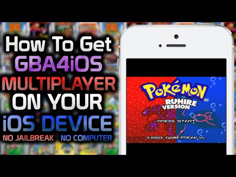 GBA4iOS 2.1: How To Get GBA Games and Multiplayer on your iOS Device! (NO JAILBREAK) (NO COMPUTER)