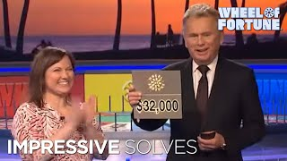Wheel of Fortune: Impressive Solves