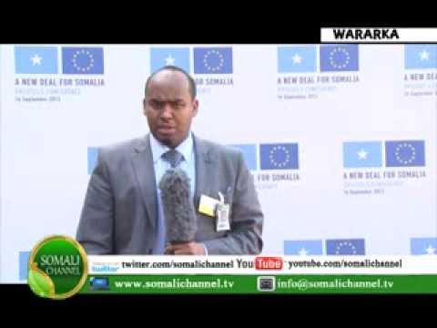 SHIRKA NEW DEAL SOMALIA IYO MD MIDOWGA YURUB JOSÉ MANUEL BARROSO 16 09 2013