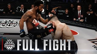 Full Fight | Lance Palmer vs. Andre Harrison (Featherweight Title Bout) | WSOF 35, 2017