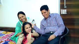 Family video shoot