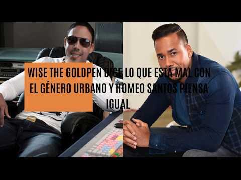 0 - Wise The Gold Pen criticó fuertemente las letras del Trap y Romeo Santos opina lo mismo