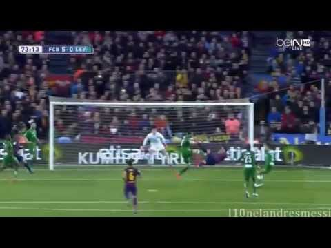 Luis Suárez Insane Bicycle Kick Goal - 2015 FC Barcelona vs Levante 5-0