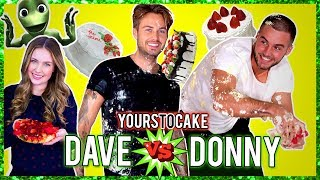 DAVE & DONNY TAARTGEVECHT MET BEAUTYNEZZ - YOURS TO CAKE + GIVEAWAY