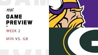 Minnesota Vikings vs. Green bay Packers Week 2 NFL Game Preview