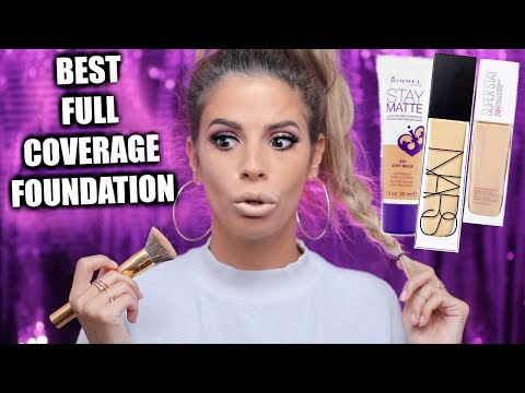 WORLDS BEST FULL COVERAGE FOUNDATIONS DRUGSTORE & HIGH END