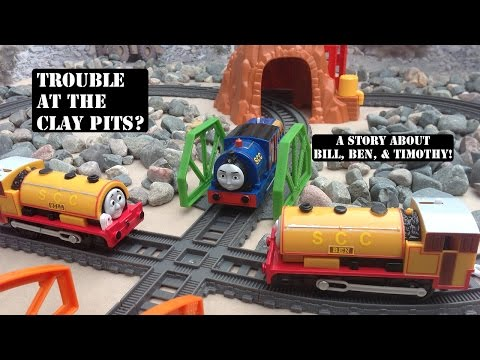 New Thomas & Friends Trackmaster Tale of the Brave Bill & Ben Meet Timothy Story!