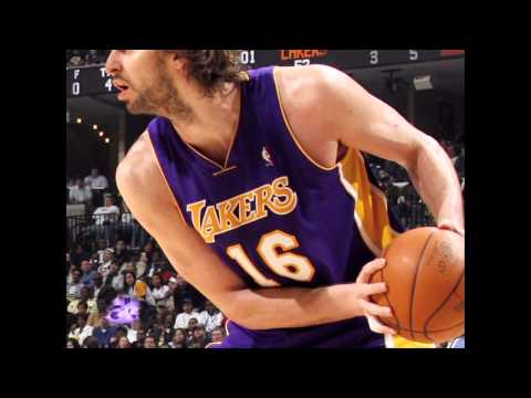 Los Angeles Laker Pau Gasol