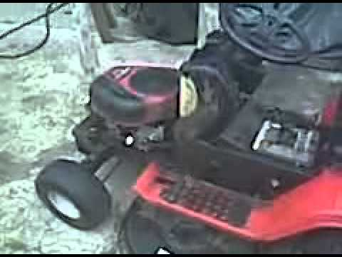 need advice ??? 17.5 HP Briggs & Stratton Intek ohv ic not running right. Tr
