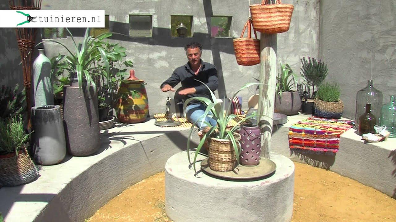 Mediterrane tuin aanleggen  Tuinieren nl  YouTube