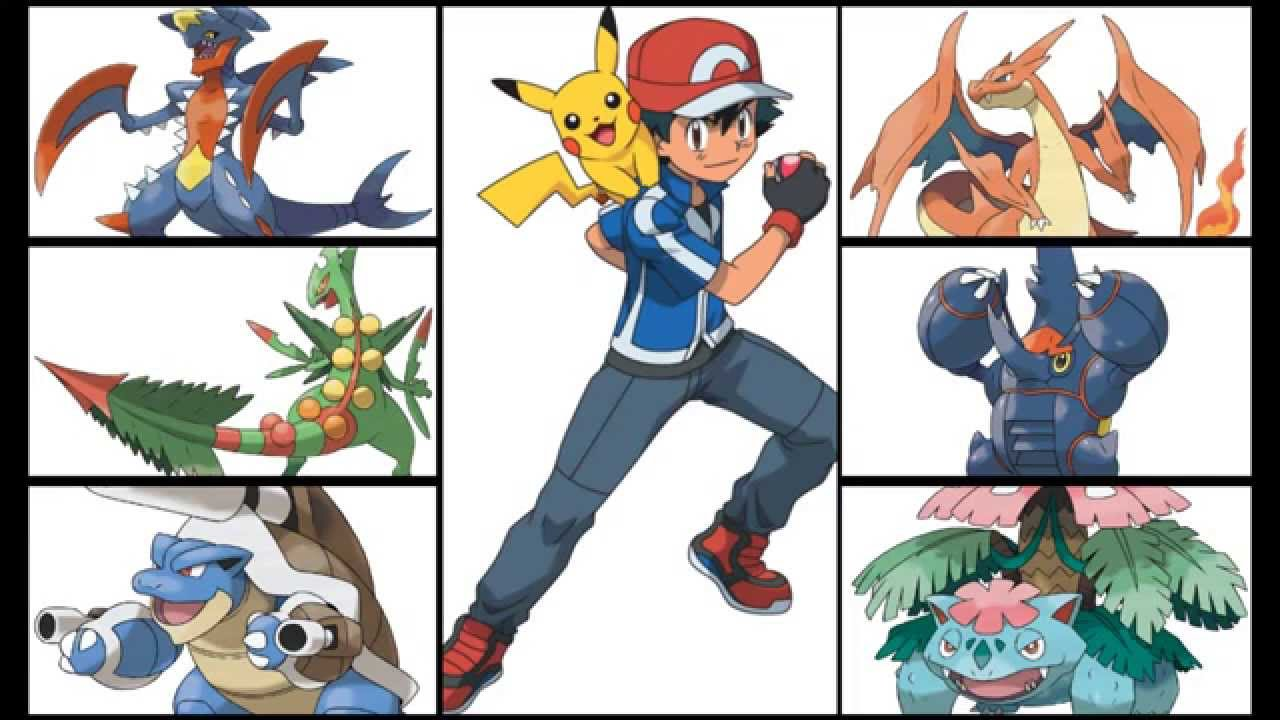 Ash mega evolution discussion youtube - Pokemon mega evolution y ...