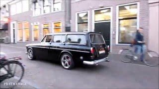 Volvo Amazon Kombi 1968 Acceleration LOUD EXHAUST