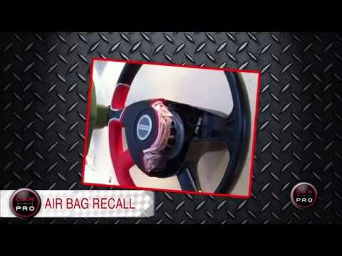 Massive Airbag Recall & Toyota's Hydrogen Car