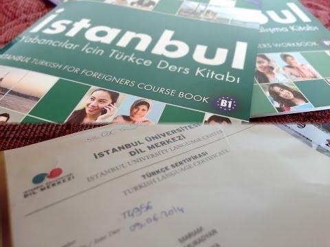 Результат изучения ТУРЕЦКОГО в Стамбульском Университете. Я закончила курсы.