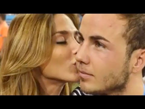 Mario Gotze Celebrates Game Winning Goal With His Hot Model Girlfriend