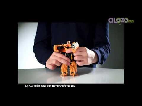[Alozo.vn] Đồ Chơi Cho Bé Robot Transformer Chiến Đấu