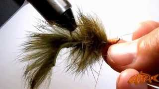Sculpin Helmet Bunny Carp Fly Tying Video