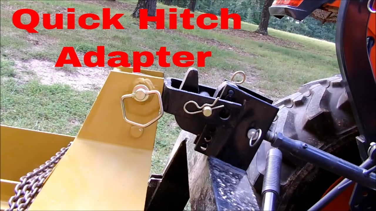 Quick Hitch Adapter Update Youtube