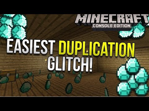 (NEW AND UNLIMITED)minecraft duplication glitch *WORKING* Console & PC