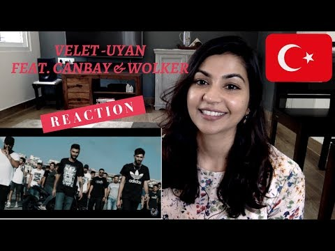 Velet - Uyan Feat. Canbay & Wolker / TURKISH RAP REACTION