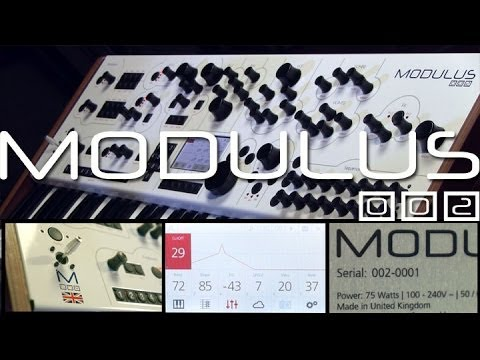 Modulus 002 Exclusive First Look