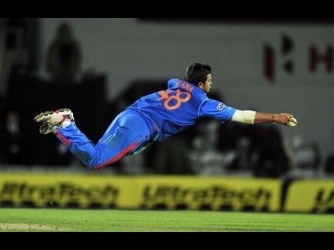 Suresh Raina acrobatic catch vs Australia 2006