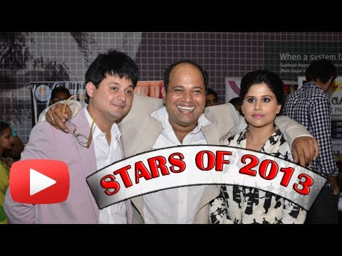Top 5 Marathi Actors - Superstars  Of 2013 - Swapnil Joshi, Sai Tamhankar, Adarsh Shinde