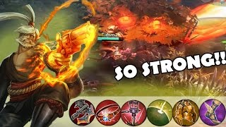 Weapon Power Ringo is STRONGGG! | Vainglory [RANKED] Lane Gameplay