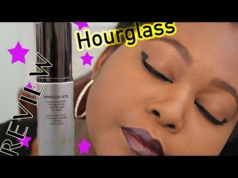 Hourglass Immaculate Liquid Powder Foundation Review and Demo