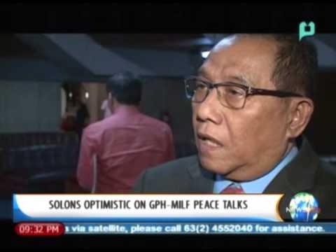 NewsLife: Solons optimistic on GPH-MILF peace talks || Jan. 21, 2014