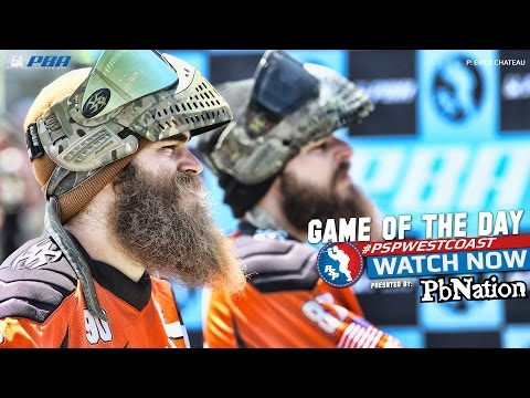 2014 PSP West Coast Paintball Game of the Day - Los Angeles Infamous vs Baltimore Revo