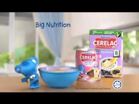 Nestlé Cerelac® Big Nutrition For Small Tummies Tvc video