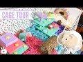 Rainbow Themed Hamster Cage mp3
