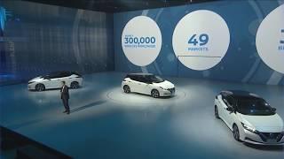 Download Live Stream Archive: New Nissan LEAF World Premiere 3Gp Mp4