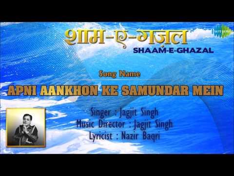 Apni Aankhon Ke Samundar Mein | Shaam-E-Ghazal | Jagjit Singh...