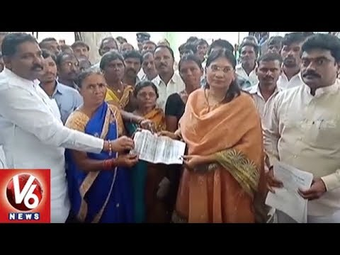 Telangana Wakf Board Member Holds Meeting With Warangal Farmers Over Land Dispute | V6 News