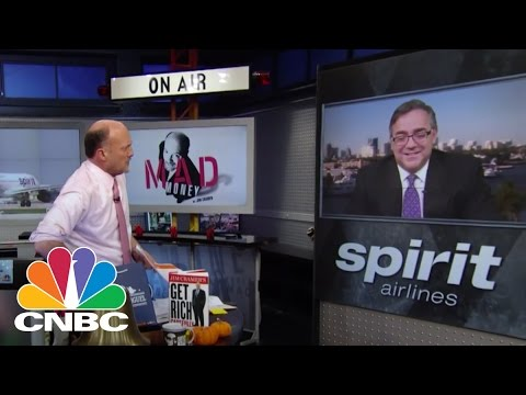 Spirit Airlines CEO Ben Baldanza | Mad Money | CNBC