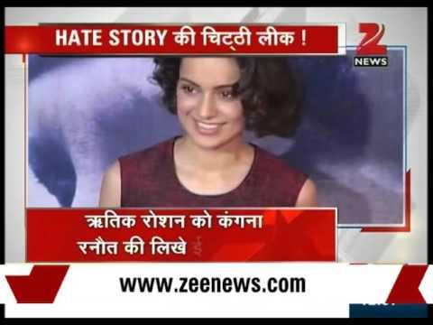 Kangana Ranaut's Email to Hrithik Roshan Leaked