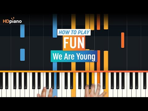 we Are Young By Fun | Hd Piano (part 1) video