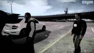 Haky feat. BHS - Say Bounce RAP HIP HOP( GTA VIDEO)