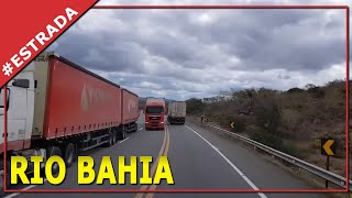 UM SHOW DE PAISAGENS. BRASIL, BR116, KM 100. MILAGRES. RIO BAHIA. Diario de bordo de um caminhoneiro
