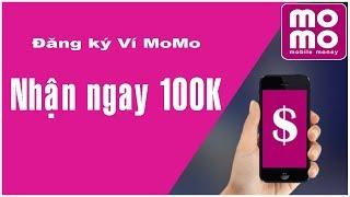 Đăng ký ví Momo liên kết ngân hàng Vietcombank - Kiếm tiền bằng điện thoại