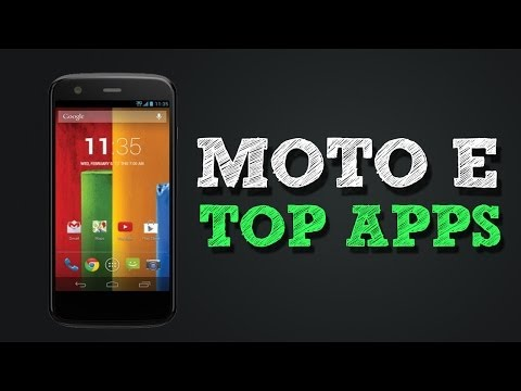 Top 4 Must Have apps for Moto E