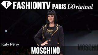 Moschino ft Katy Perry, Rita Ora | Fall/Winter 2014-15 FIRST LOOK | Milan Fashion Week | FashionTV
