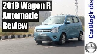 2019 Maruti Wagon R AGS (AMT Automatic) Detailed Review With Road Test