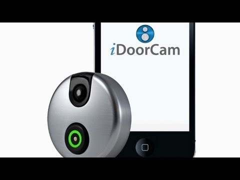 Idoorcam Is A Door Peephole For This Century Youtube