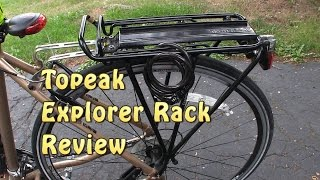 Topeak Explorer Rack MTX with spring rack review