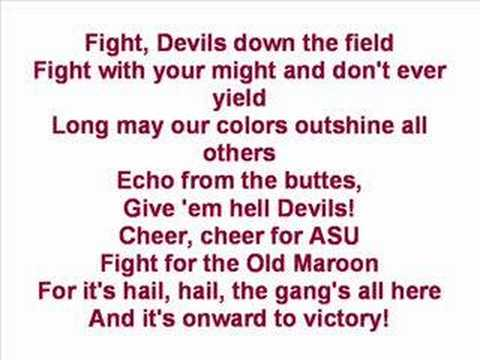 Arizona State University - Fight Song Video