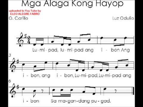 K-12 SONGS, GRADE 2, MGA ALAGA KONG HAYOP, MODULE 14 - YouTube